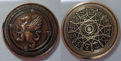 Fantasy Coin, LLC is raising funds for Fantasy Coins for Board Games, RPGs, LARP, or any occasion on Kickstarter! High quality metal coins for gaming or any occasion! Role Play Scenarios, Magic Coins, Sci Fi Rpg, Coin Purse Tutorial, Coin Art, Painting Plastic, Coin Jewelry, Pen And Paper, Larp