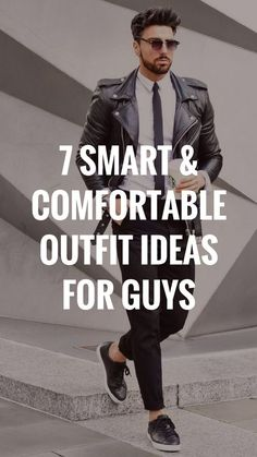Want to see some amazingly smart and comfortable outfits for guys? Check out these outfit ideas. #comfotableoutfits