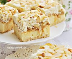 Łabędzi puch - przepisy z myTaste Sweets Cake, Cookie Desserts, Sweet Desserts, No Bake Desserts, Sweet Recipes, Cupcake Cakes, Dessert Recipes, How Sweet Eats, Cheesecake Recipes