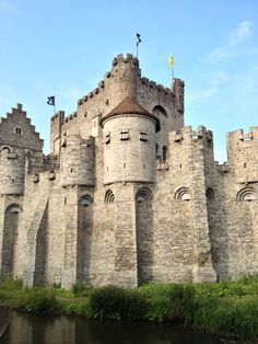 Castillo de Gravensteen #castle #bélgica #belgique