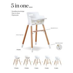 Pour Bebe Maison Gatti High Chair Things We Love