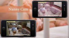 מצלמות אבטחה למטפלת ומצלמות מעקב נסתרות Nanny Cam, Phone, Tech, Tecnologia, Telephone, Technology