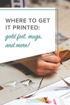 """As business owners, we love to send clients gifts or just have some """"promotional items"""" on hand for events and trade shows. If you're not going to work with a local printer, there are plenty of great online printers that you can work with. Some printers s"""