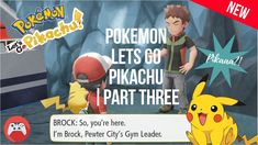 Pokemon Lets go Pikachu is the new game of the month and I would love to share my experiences in this play-through of the Pikachu version. City Gym, Pikachu, Pokemon, Gym Leaders, Letting Go, Let It Be, Play, Youtube, Movie Posters