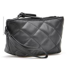 Fashion Wallets Wristlets Day Clutch Coin Purse Plaid Evening Bag Clutch Cosmetic Bag Cheap Women Leather Handbags