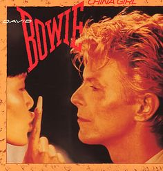 "For Sale - David Bowie China Girl UK  7"" vinyl single (7 inch record) - See this and 250,000 other rare & vintage vinyl records, singles, LPs & CDs at http://eil.com"