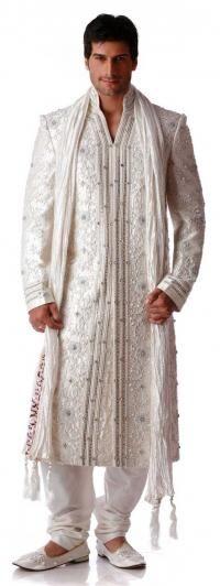 Sherwanis, Indian Men Wedding Sherwanis Designer Collection - Nihal Fashions