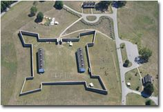 Fort Frederick--The stone fort built in 1756 protected Maryland's frontier settlers during the French and Indian War.