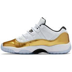 "Air Jordan 11 Retro Low ""Olympic"" found on Polyvore featuring polyvore"