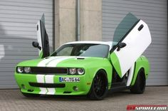 The Dodge Challenger Muscle Car