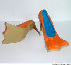 Weird shoes  http://smilepanic.com/25-creative-and-weird-shoe-designs