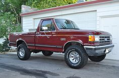 1987 ford f150 4x4 want one to just have one day. Love this style!