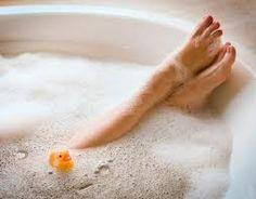 Love relaxing bubble baths