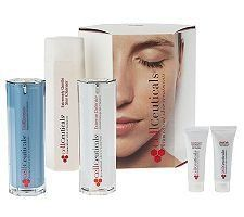 CellCeuticals Biomedical Skin Treatments 3-Piece System by CellCeuticals. $175.00. QVC has a hassle-free, 30-day Return Policy. See site for details.. What is it: A comprehensive, yet simple, two-step skin treatment system.Who is it for: Clinically effective for all ages and skin types, even sensitive.Why is it different: These treatments contain the breakthrough GFP Cellular Complex, which is clinically tested to treat the visible signs of skin aging and help...
