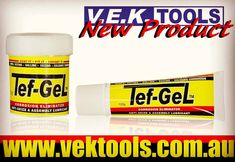 Check Out This New Handy Product Available From VEK TOOLS Stores Search 'tef gel' at www.vektools.com.au VEK TOOLS Best Brands | Best Service | Best Deals Open 6 Days A Week Smithfield | Narellan | McGraths Hill | Prestons | Artarmon | Peakhurst #vektools #automotive #construction #hometradie #schools #toolboxes #toolkits #handtools #airtools #waterpressurecleaners #cordlesstools #powertools #fasteners #tefgel #antiseize #lubricant