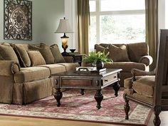 Our family room furniture...Bernhardt Sofa and Chair 1/2...Luv um!