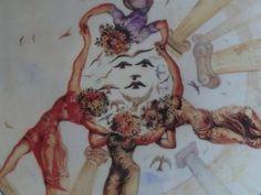 Salvador DALI : La danse des jeunes-filles en fleurs - Porcelaine 3