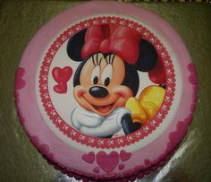 Minnie Mouse Girls Birthday Cake