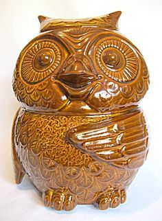 Owl Cookie Jars on Pinterest | Vintage Cookie Jars, Cookie Jars ...