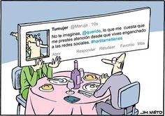 Enganchado a las redes sociales
