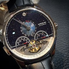 Vasco da Gama from Montblanc, launched in SIHH In homage to this extraordinary spirit of discovery, montblanc is introducing a very special timepiece in a magnificently decorated limited. Amazing Watches, Cool Watches, Watches For Men, Montblanc Boheme, Automatic Skeleton Watch, Vintage Pocket Watch, Watch Companies, Luxury Watches, Vintage Watches