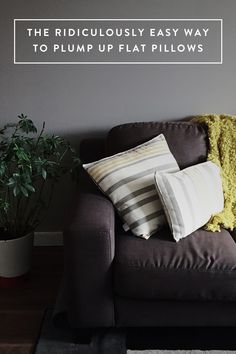 Why You Should Be Cleaning Your Pillows with Sunlight via @PureWow
