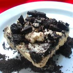 """No Bake Double Good Dessert 