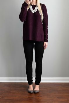 2a76d042cb6 November 2016 Stitch Fix Review  Market   Spruce Brookline Mix Material  Sweater and Genetic LA · Colored Pants ...