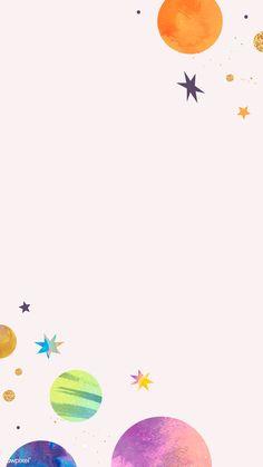 wallpaper watercolor wallpaper Colorful galaxy watercolor doodle frame on pastel. wallpaper watercolor wallpaper Colorful galaxy watercolor doodle frame on pastel background mobile wallpaper watercolor . Space Watercolor, Watercolor Galaxy, Watercolor Wallpaper, Watercolor Background, Phone Backgrounds Tumblr, Cute Wallpaper Backgrounds, Wallpaper Iphone Cute, Cute Wallpapers, Framed Wallpaper