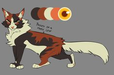 Mapleshade design I never got around to posting, wanted to make a more natural version of our Dixie Boy design while still keeping the elements the same Warrior Cats Fan Art, Warrior Cat Drawings, Warrior Drawing, Dragon Poses, Cat Reference, Fox Dog, Cat Pose, Cat Design, Animal Drawings