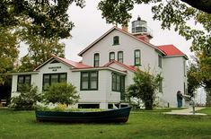 At the Grand Traverse Lighthouse Museum in Michigan, you can perform traditional keeper's duties when you stay. Neat!