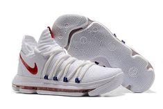 reputable site e2f78 6d3bc Nike KD 10 Nike KDX Red White Blue Lebron 14, Nike Lebron, Ucla Basketball