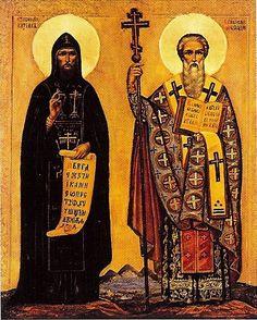 Sts. Cyril and Methodius, Apostles to the Slavs.