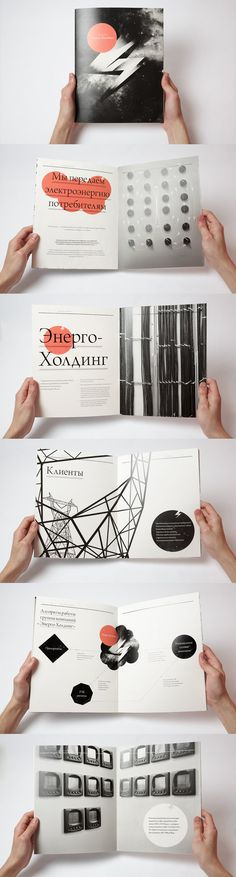 editorial design, brochures