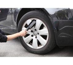 Mit der Felgenbürste grau-schwarz erreichen Sie im Handumdrehen eine professionelle Reinigung Ihrer Felgen.