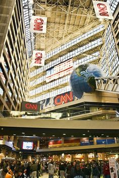CNN Center in Atlanta, GA