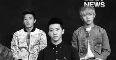 Jong Up, Yong Guk, & Dae Hyun.