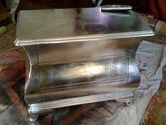 DIY silver dresser