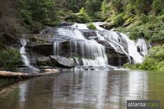 7 Mile Panther Creek Trail #Georgia #Waterfall #Beautiful