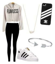 """Adidas"" by annakasudiro on Polyvore featuring adidas, Kendra Scott and Bling Jewelry"