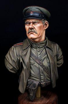 New TGB Miniatures - Soviet Officer   planetFigure   Miniatures
