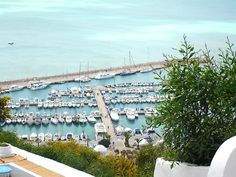 The beauty of Tunis is that it is so close to the sea and so beautiful.