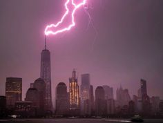 Photographer Jennifer Khordi from New Jersey tracked the storm on weather radar and was ab...