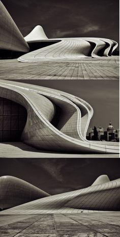 Heydar Aliev Cultural Center, Zaha Hadid Architects, 2007-TBC // http://www.zaha-hadid.com/architecture/heydar-aliyev-cultural-centre/