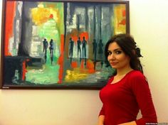 Who- Hiba Yunis  What- kurdish artist brings violence against women into the open Where- Iraqi Kurdish  Yunis is responding to the violence against women. I think it's effective because violence against women or any human being is not right and bringing it into the open gives everyone a view of what violence to any human being is truly doing to a person.