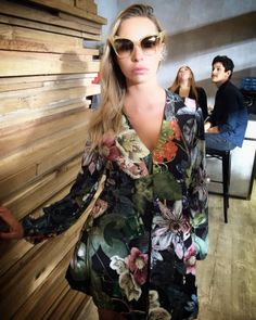 What do you think of Ana Luisa Matos in Naugthy Dog FW1617 Autumn print jumpsuit? #WeLoveIt