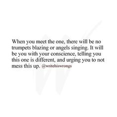 .j...When you meet the one...