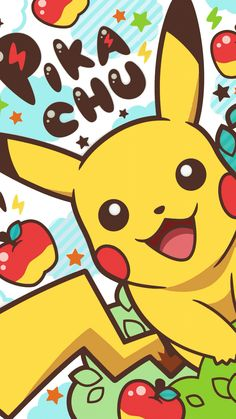 (disambiguation) Pikachu is one of the species of Pokémon creatures from the Pokémon media franchise, as well as its mascot. Pikachu may also refer to: Cute Pokemon Wallpaper, Cute Disney Wallpaper, Kawaii Wallpaper, Cute Cartoon Wallpapers, Animes Wallpapers, Ios Wallpapers, Cool Wallpaper, Pikachu Pikachu, Fotos Do Pikachu