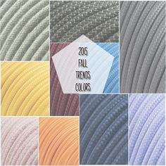 According to #pantone, these are the fall trends colors 2015! Discover our cablese here: ITA: www.creative-cables.it USA: www.creative-cables.com Europe&Australia: www.creative-cables.net  #homedecor #design #diy #craft #fashion #style #trend #moda #beleuchtung #eclairage #lighting #illuminazione