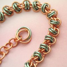 Barrel Weave Chainmaille Bracelet Kit Perfect by UnkamenSupplies